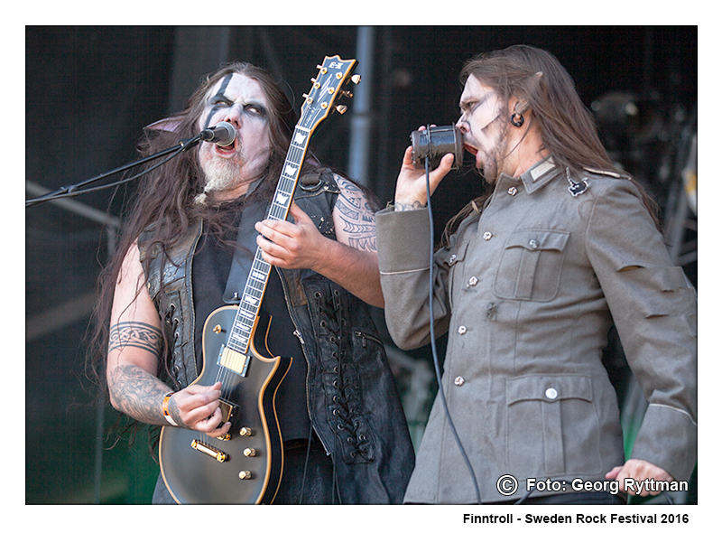 Finntroll - Sweden Rock Festival 2016