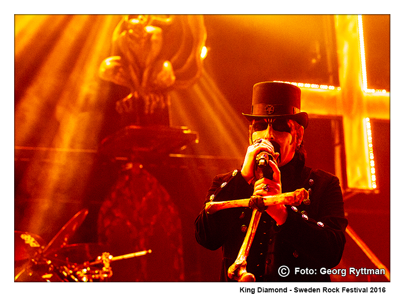 King Diamond - Sweden Rock Festival 2016
