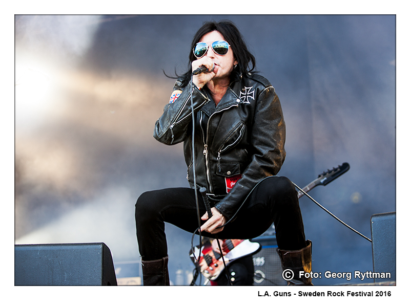 L.A. Guns - Sweden Rock Festival 2016
