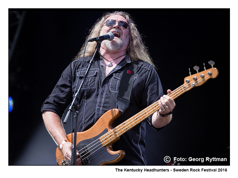 The Kentucky Headhunters - Sweden Rock Festival 2016