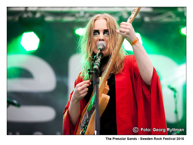 The Presolar Sands - Sweden Rock Festival 2016