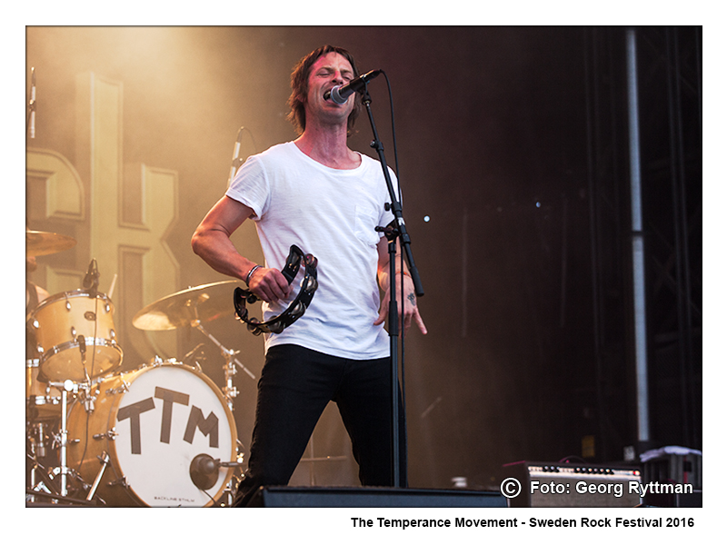 The Temperance Movement - Sweden Rock Festival 2016