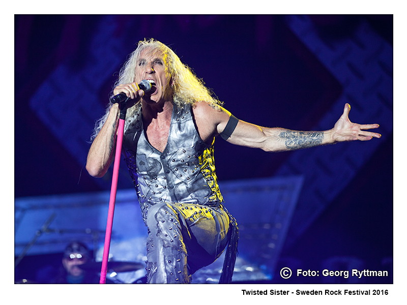 Twisted Sister - Sweden Rock Festival 2016