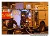 Brinnande buss - Sofielundsvägen