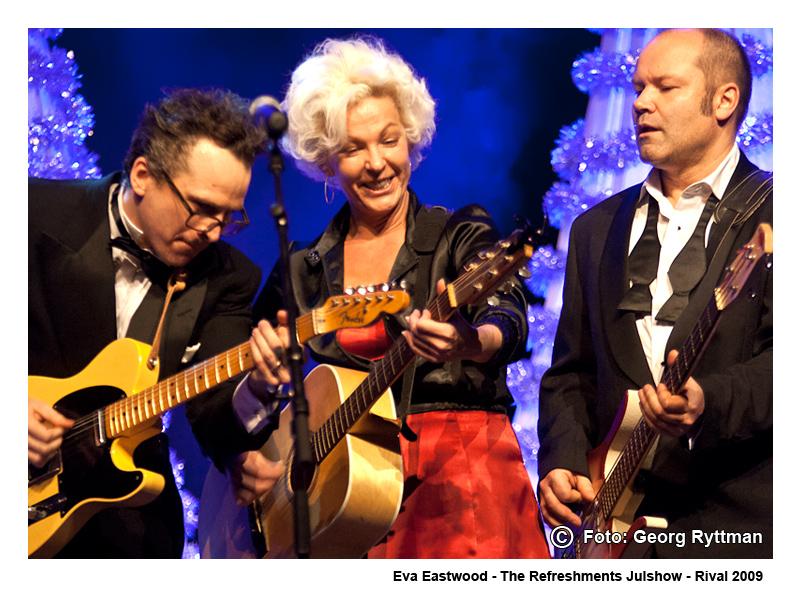 Eva Eastwood - Julshow på Rival 2009