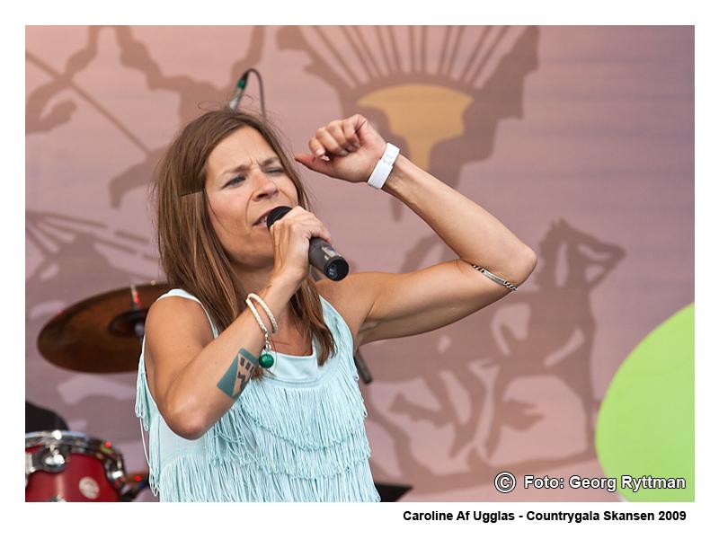Caroline af Ugglas - Countrygala Skansen 2009