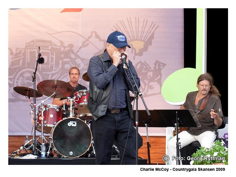 Charlie McCoy - Countrygala Skansen 2009