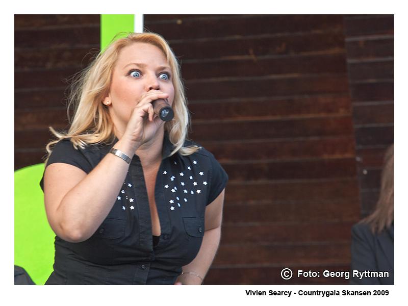 Vivien Searcy - Countrygala Skansen 2009