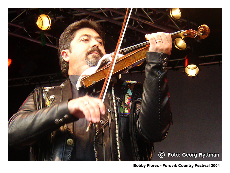 Bobby Flores - Furuvik Country Festival 2004