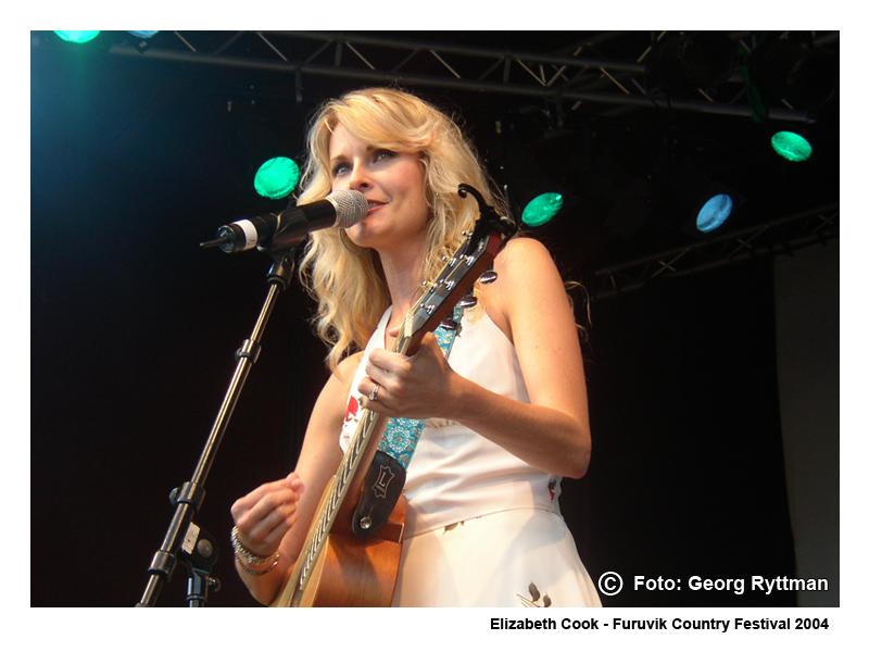 Elizabeth Cook - Furuvik Country Festival 2004