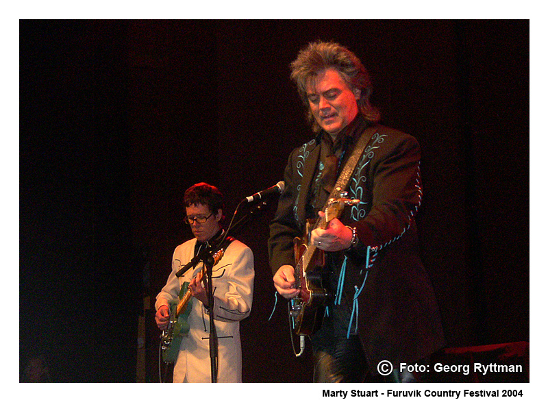 Marty Stuart - Furuvik Country Festival 2004
