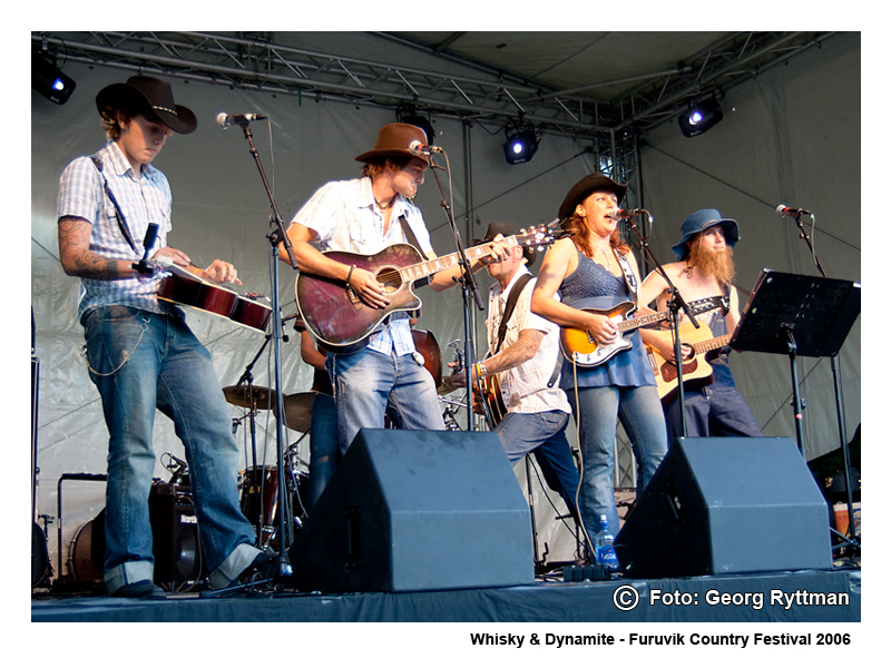 Whisky & Dynamite - Furuvik Country Festival 2006