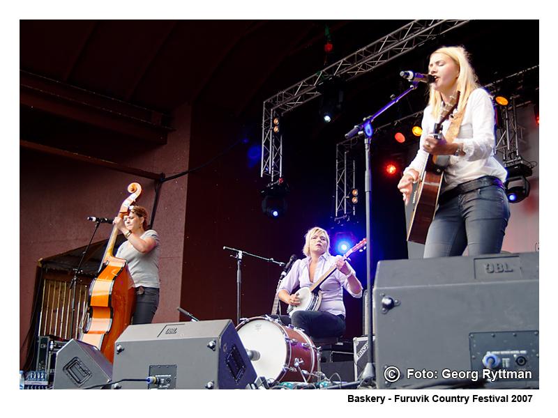 Baskery - Furuvik Country Festival 2007