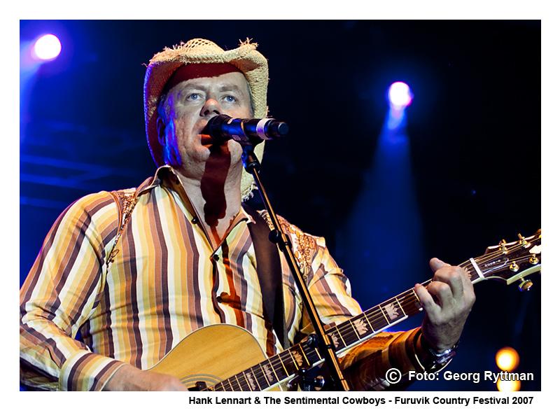 Hank Lennart & The Sentimental Cowboys - Furuvik Country Festival 2007