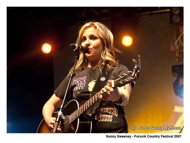 Sunny Sweeney - Furuvik Country Festival 2007