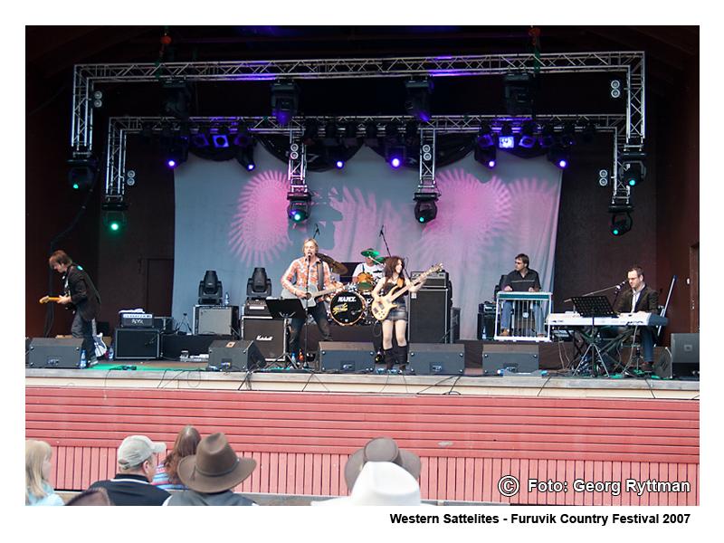 Western Sattelites - Furuvik Country Festival 2007