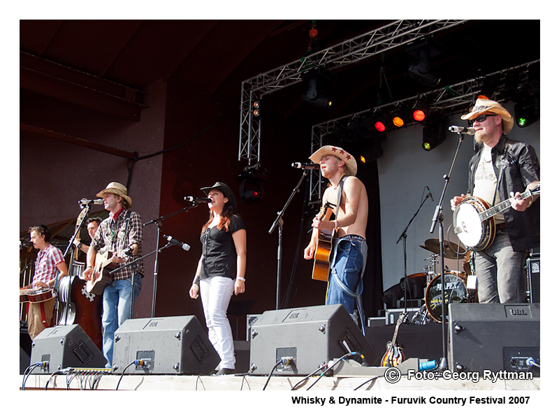Whisky & Dynamite - Furuvik Country Festival 2007