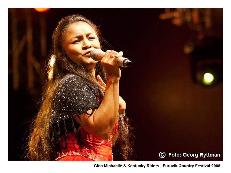 Gina Michaelle - Furuvik Country Festival 2008