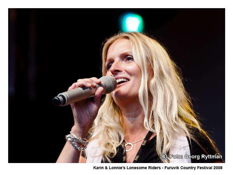 Karin & Lonnies Lonesome Riders - Furuvik Country Festival 2008