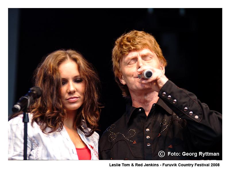 Leslie Tom & Red Jenkins - Furuvik Country Festival 2008