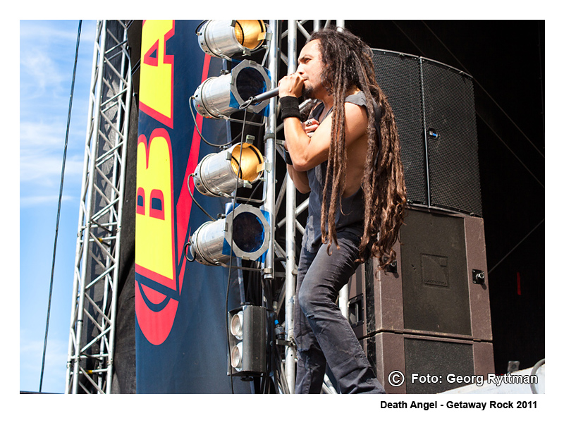Death Angel - Getaway Rock 2011
