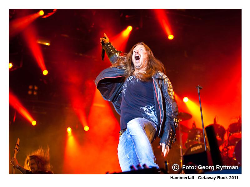 Hammerfall - Getaway Rock 2011