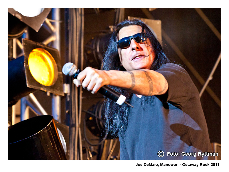 Joe DeMaio - Manowar - Getaway Rock 2011