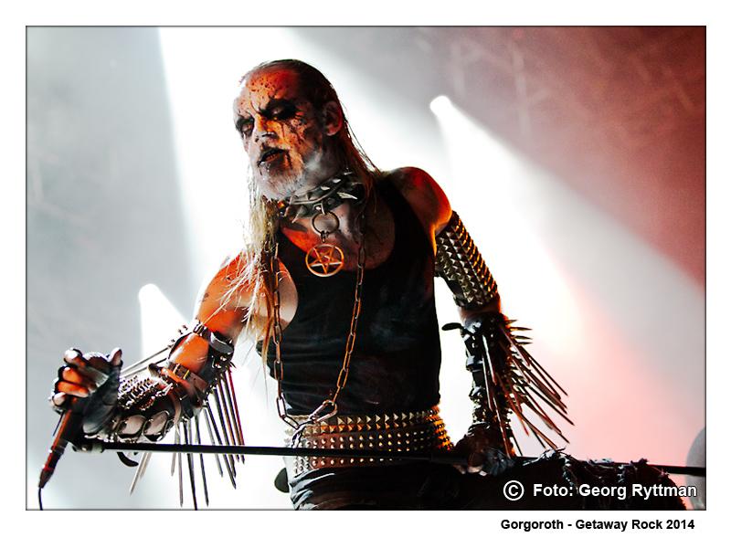 Gorgoroth - Getaway Rock 2014