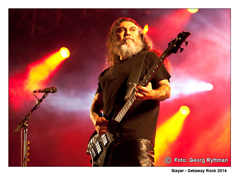 Slayer - Getaway Rock 2014