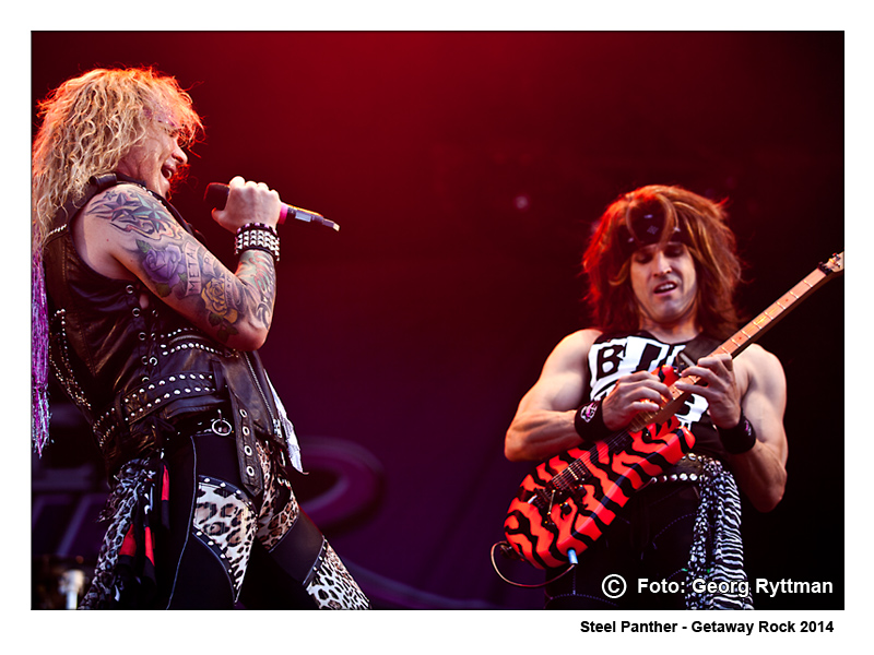 Steel Panther - Getaway Rock 2014