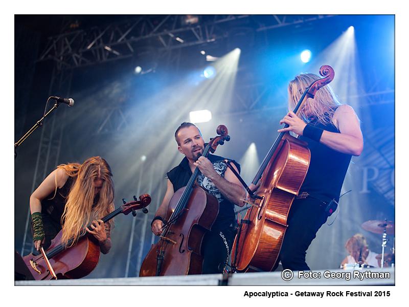 Apocalyptica - Getaway Rock Festival 2015