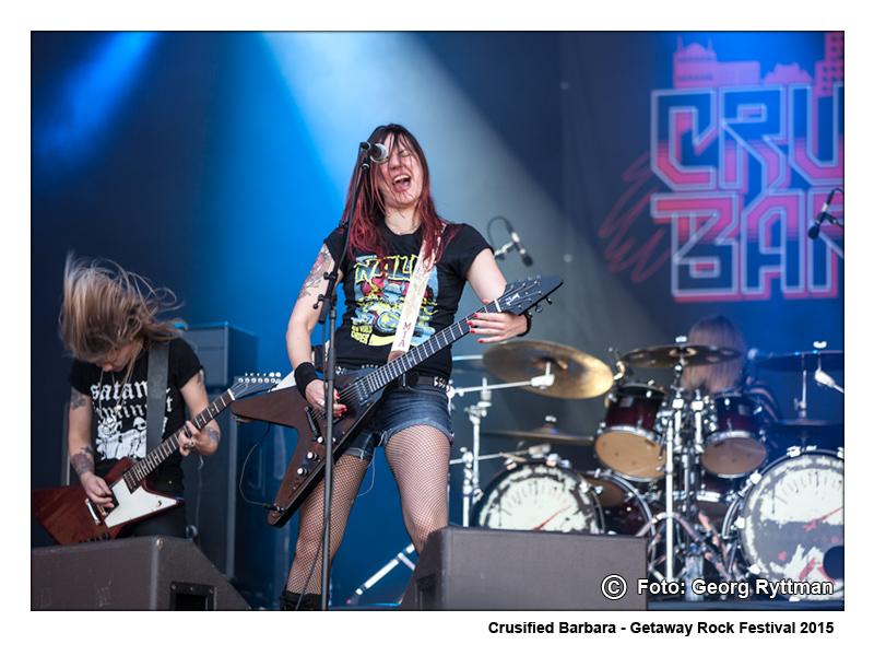 Crusified Barbara - Getaway Rock Festival 2015