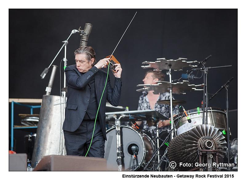 Einsturzende Neubauten - Getaway Rock Festival 2015
