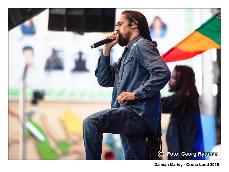 Damian Marley - Gröna Lund 2015
