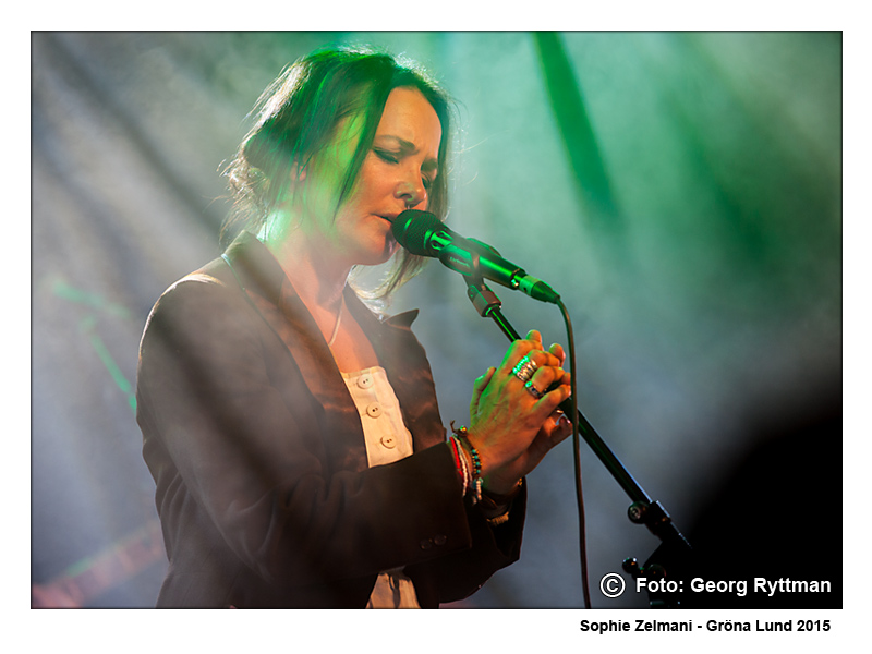Sophie Zelmani - Gröna Lund 2015