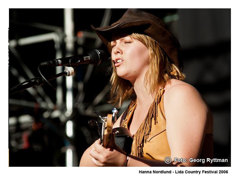 Hanna Nordlund - Lida Country Festival 2006