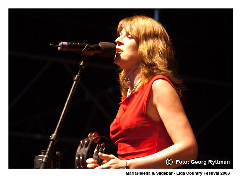 MariaHelena & Slidebar - Lida Country Festival 2006