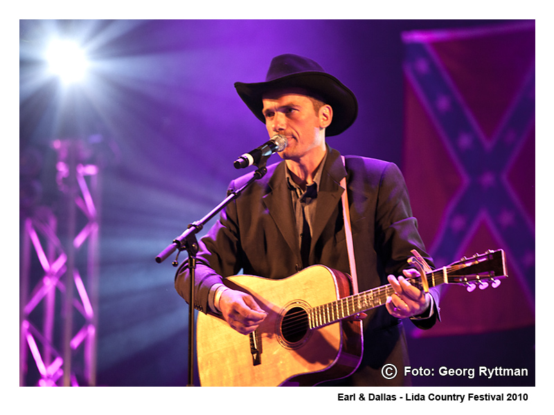 Earl Dallas - Lida Country Festival 2010