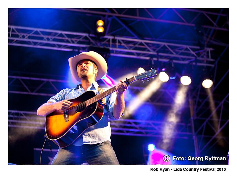 Rob Ryan - Lida Country Festival 2010