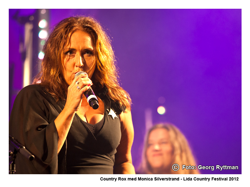 Country Rox med Monica Silverstrand - Lida Country Festival 2012