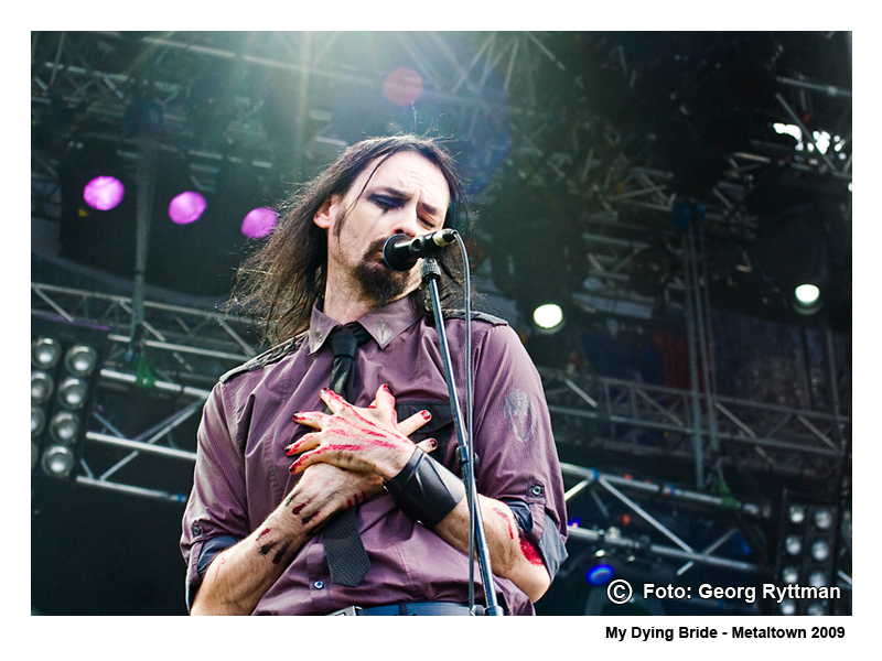 My Dying Bride - Metaltown 2009