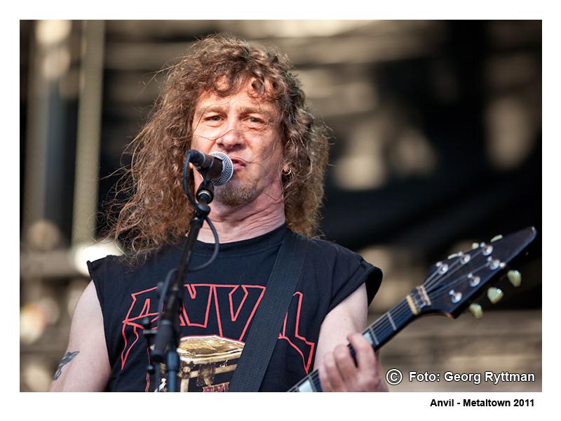 Anvil - Metaltown 2011