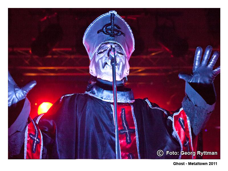 Ghost - Metaltown 2011
