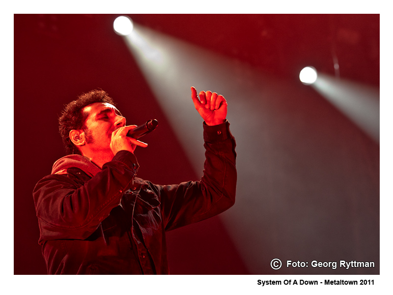 System Of A Down - Metaltown 2011