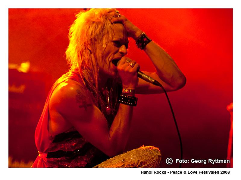 Hanoi Rocks - Peace & Love Festivalen 2006