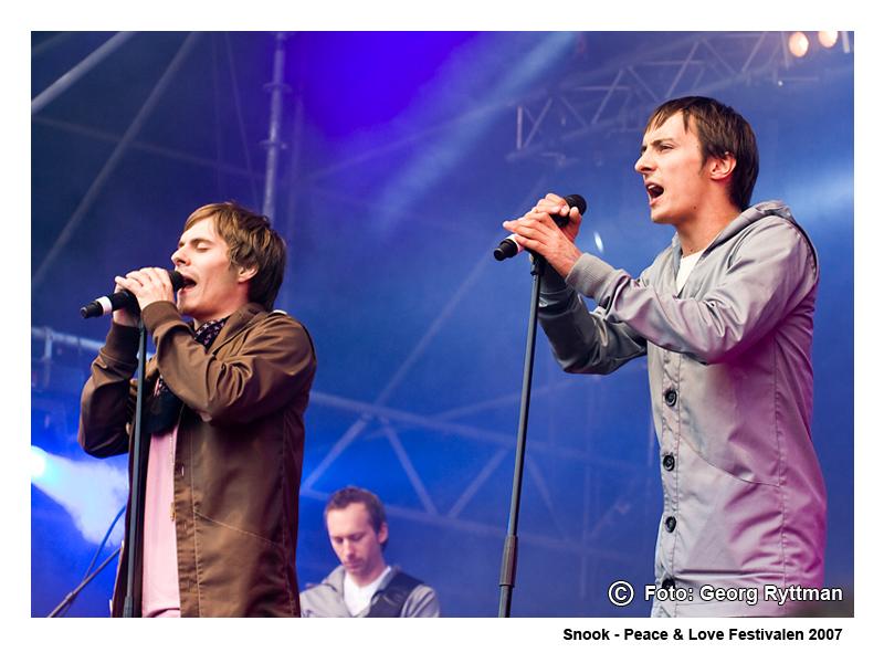Snook - Peace & Love Festivalen 2007