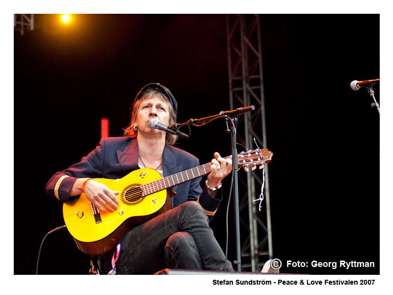 Stefan Sundström - Peace & Love Festivalen 2007