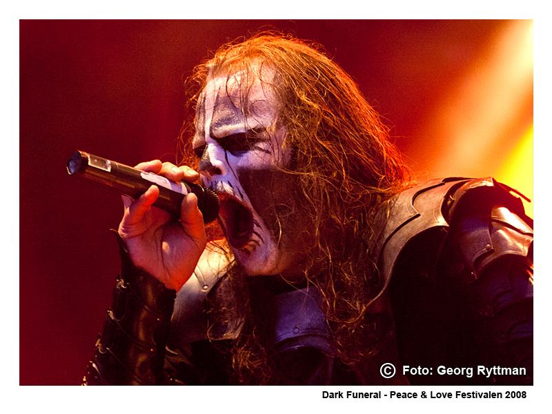 Dark Funeral - Peace & Love Festivalen 2008
