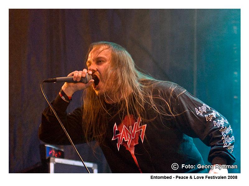 Entombed - Peace & Love Festivalen 2008