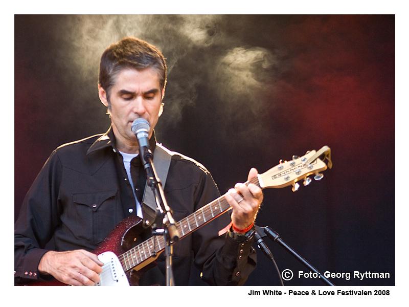 Jim White - Peace & Love Festivalen 2008
